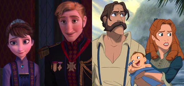 Tarzan è il fratello di anna ed elsa lo conferma il regista di